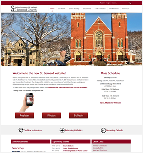 Best Catholic Website in Rockville, Ct