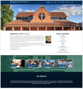Best Catholic Church Websites in Norwich, Ct