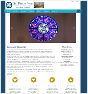 St. Louis' Best Church Website