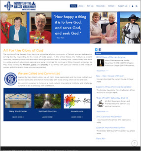 Catholic Parish and Community Web Design